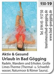 Bad Gögging – Gesund & Aktiv